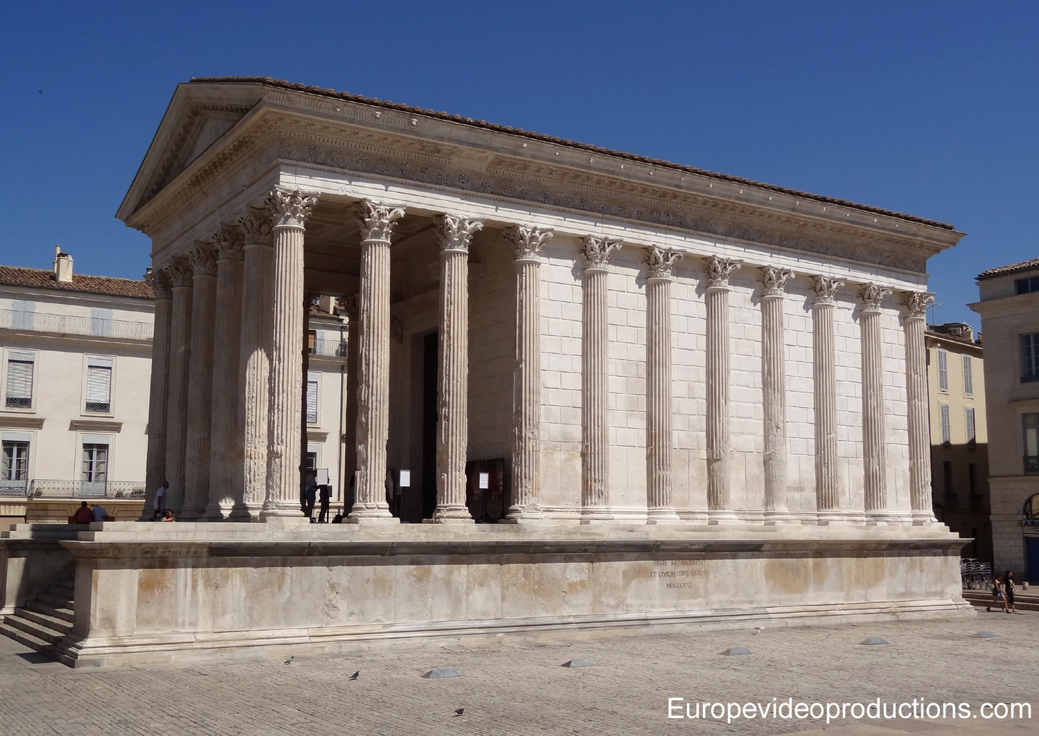 Maison Carrée in Nîmes, France