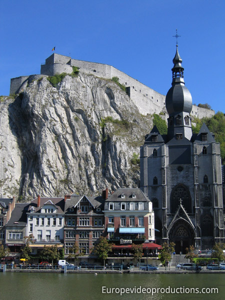 Dinant in Wallonia in Belgium