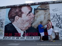 East Side Gallery in Berlin in Germany