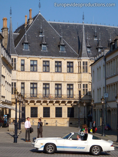Photo grand ducal palace in luxembourg city grand duchy of luxembourg - Office du tourisme luxembourg ...