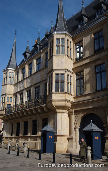 Photo grand ducal palace luxembourg city grand duchy of luxembourg - Tourist office luxembourg ...