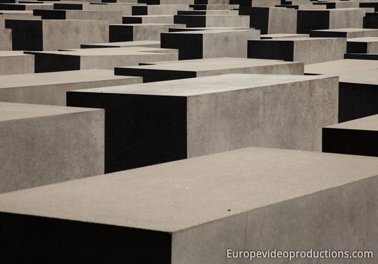 Holocaust Memorial in Berlin in Germany