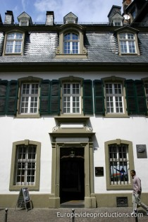 House of Karl Marx in Trier in Germany