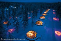 Kakslauttanen Igloo Village in Saariselkä in Finnish Lapland