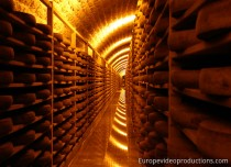 Affineur des Rousses Fromageries in Jura in Eastern France