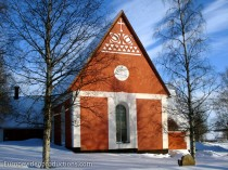 Church of Kalix in Swedish Lapland