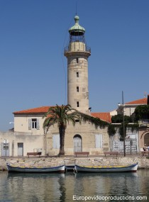 Lighthouse of Grau-du-roi, France