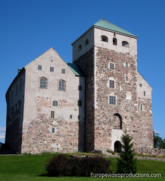 Medieval Castle in Turku, Finland