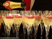 Mercier Champagne tasting in Epernay, France