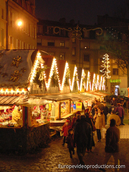 Metz Christmas Market in Lorraine in France