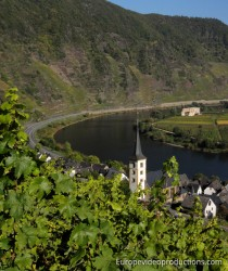 Mont Calmont in Mosel in Germany