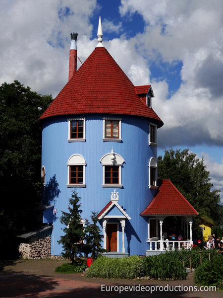 Moominworld themepark in Naantali in the Finnish archipelago