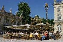 Place Stanislas in Nancy in Lorraine, France
