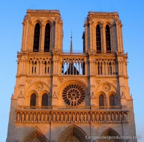 Notre Dame de Paris in France