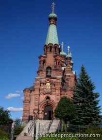 Orthodox church of Tampere in Finland
