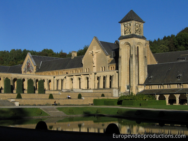 Orval Abbey – Cistercian monastry in Wallonia in Belgium