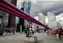 Potsdamer Platz in Berlin in Germany