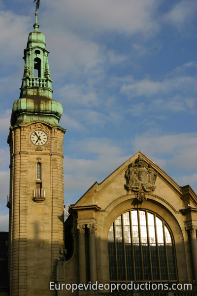 Railway Station of Luxembourg City