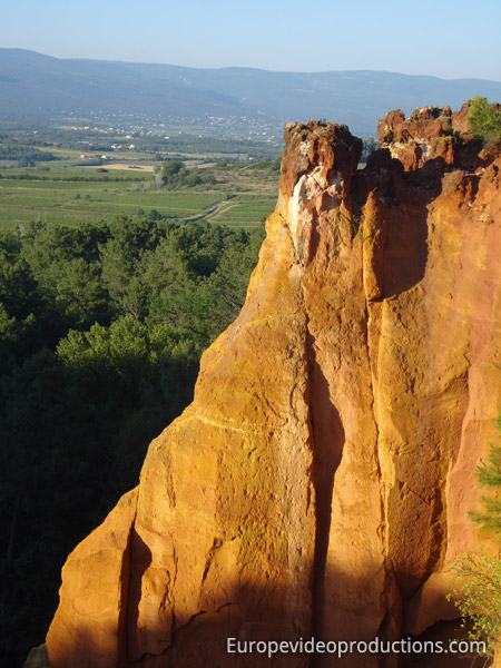 Roussillon in Southern France