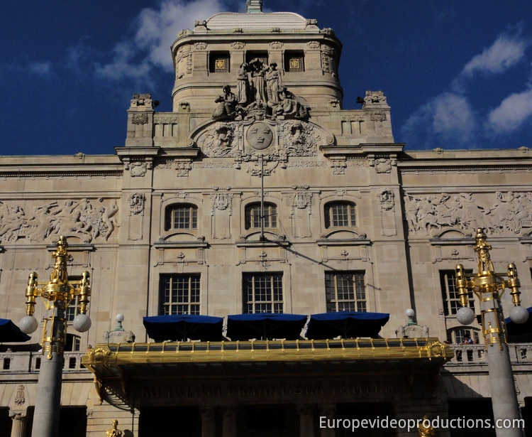 Royal Dramatic Theatre in Stockholm in Sweden