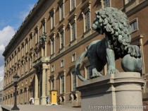 Stockholm Royal Palace in Sweden