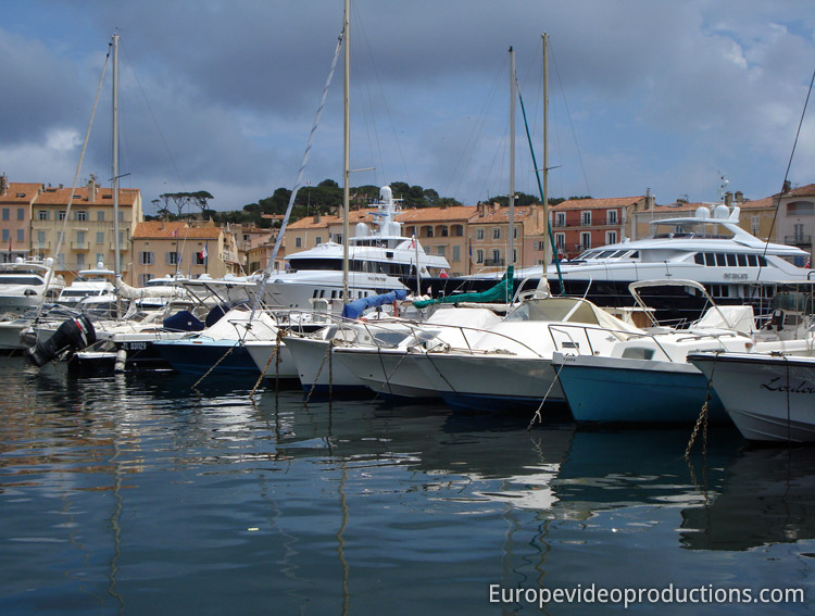 Saint-Tropez on the French Riviera