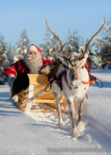 Lapland – home of Santa Claus in Finland