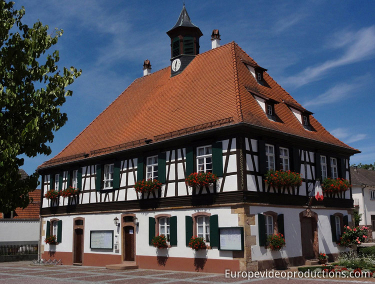 Seebach in Northern Alsace in France
