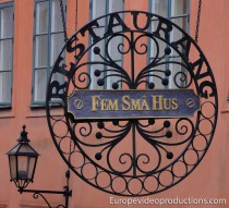 Gamla Stan en Estocolmo – el casco antiguo de capital sueca