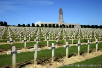 Douaumont Ossuary in Lothringen in Frankreich