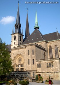 Notre Dame Kathedrale in Luxemburg-Stadt