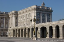 Königspalast in Madrid, Spanien