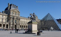 Louvre Mouseum in Paris in Frankreich
