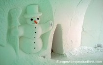 Snowman World in Santa Claus Village in Rovaniemi in Finnish Lapland