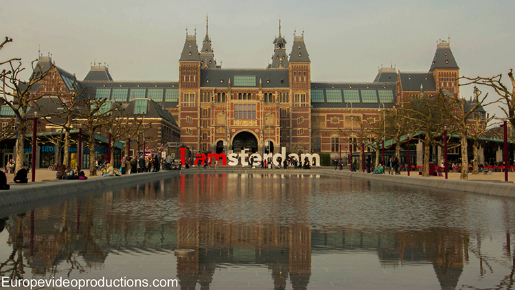 The State Museum in Amsterdam in the Netherlands