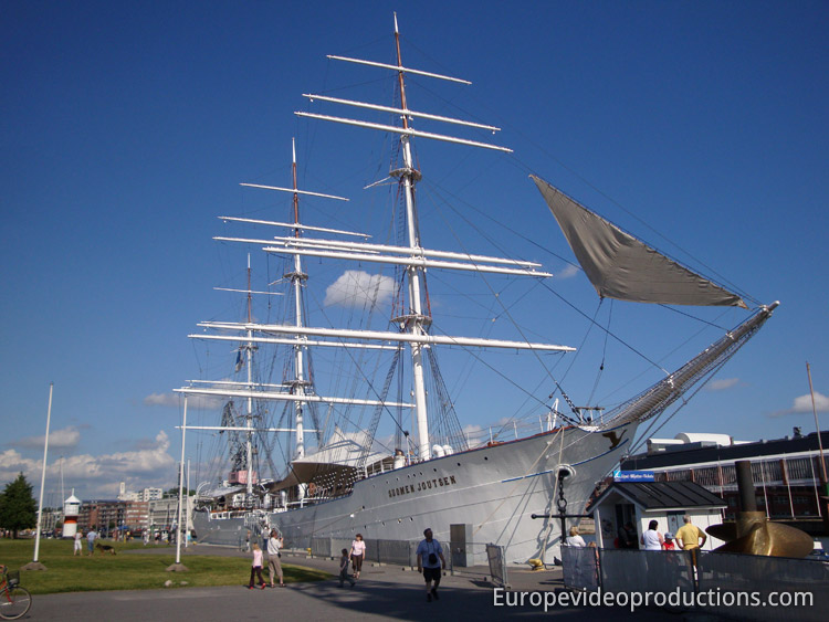 Swan of Finland (Suomen Joutsen) museum ship in Turku, Finland