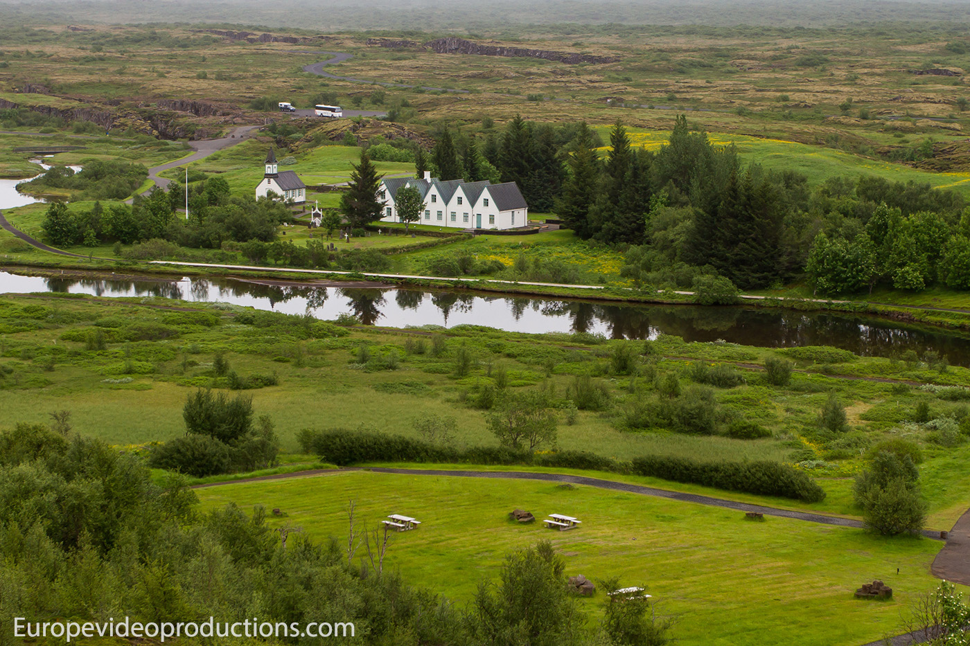 Thingvellir National Park on the Golden Circle in Iceland