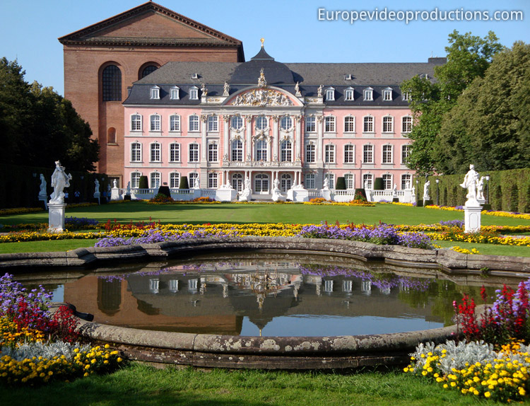 Trier in Moselle Valley in Germany : Prince's electoral Palace