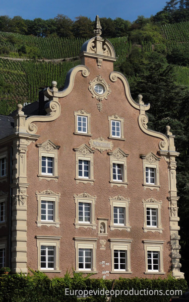 Wine estate Mönchhof in Ürzig in Mosel Germany