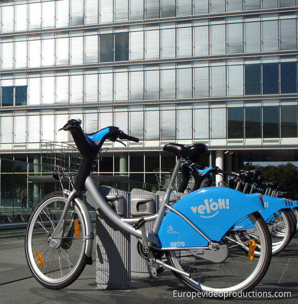 Vel'oh bikes in Luxembourg City